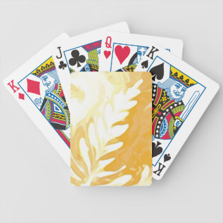 Coffee cup Leaves of Cream Bicycle Playing Cards
