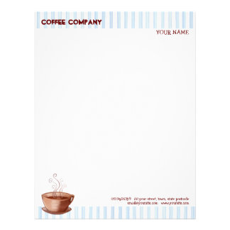 Coffee Cup Letterhead
