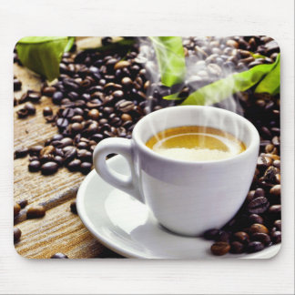 Coffee cup mouse pad