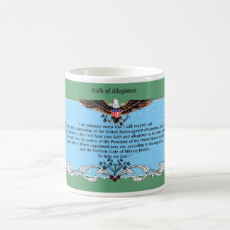 Coffee Cup Oath Of Allegiance