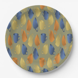 coffee cup  paper plate