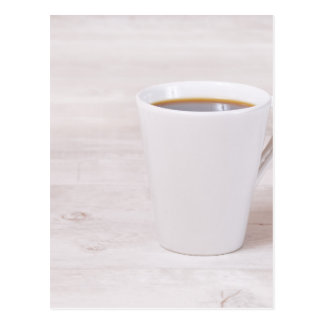 Coffee cup postcard