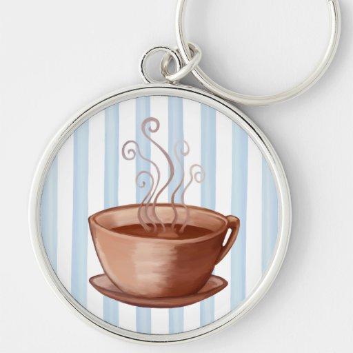 Coffee Cup Premium Keychain