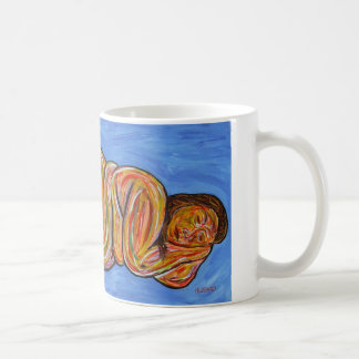 "Coffee cup print of ""Venus"" by Thurman Hubbard"