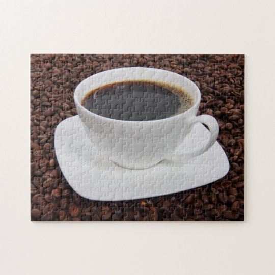 Coffee Cup Roast Delight Jigsaw Puzzle