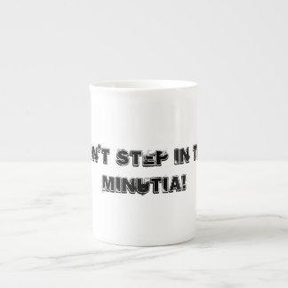 coffee cup + sayings bone china mug