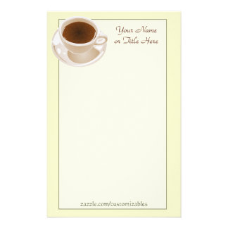Coffee Cup Stationery