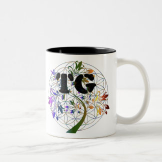 Coffee Cup/ Tea Cup TG Flower Of Life Design