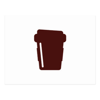 Coffee Cup To go Postcard