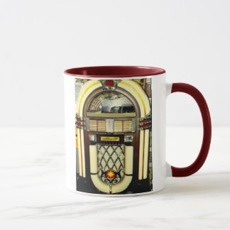 "Coffee Cup with Juke Box ""Dance in the Light"""