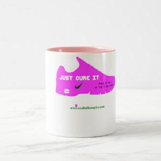 coffee - cure Two-Tone coffee mug