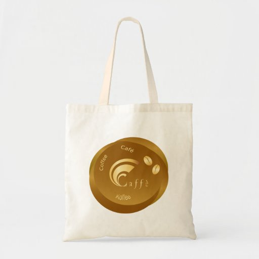 coffee design tote bags