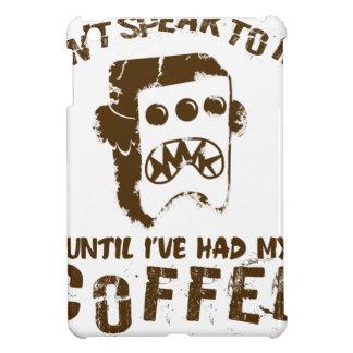 coffee design iPad mini cover