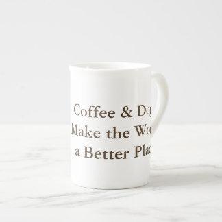 Coffee & Dogs Make the World a Better Place mug