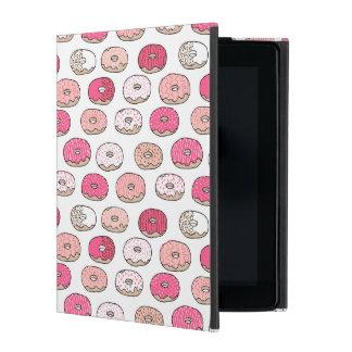 Coffee Donut Sweets Pink Pastel / Andrea Lauren iPad Case