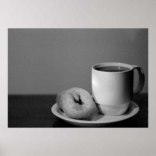 Coffee & Doughnuts Poster