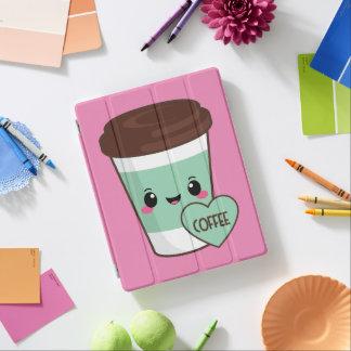 Coffee Emoji Lover iPad Cover