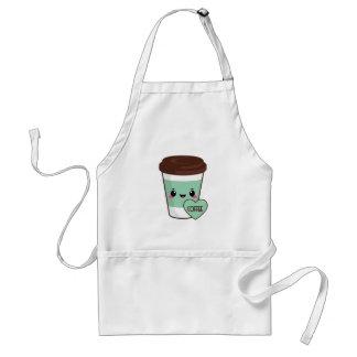 Coffee Emoji Lover Standard Apron