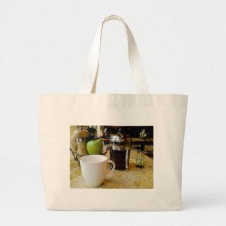 coffee etc jumbo tote bag