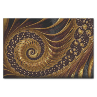 coffee feathers fractal tissue paper