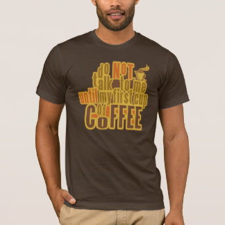 COFFEE FIRST shirt - choose style, color