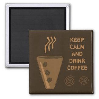 Coffee Fridge Magnet