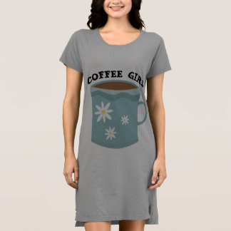 COFFEE GIRL t-shirts & dresses