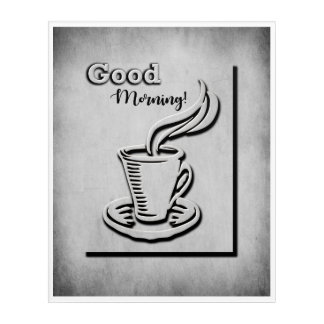 Coffee Good Morning! Acrylic Print