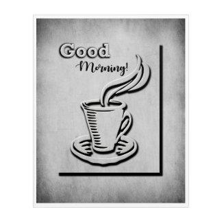 Coffee Good Morning! Acrylic Wall Art