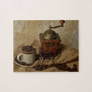 Coffee Grinder and Cup Jigsaw Puzzle