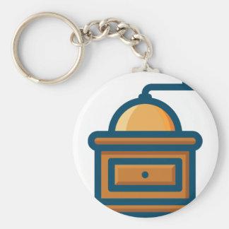 Coffee Grinder Keychain