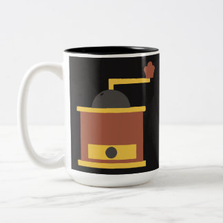 Coffee Grinder Mug Dark