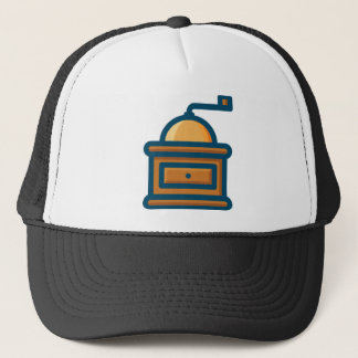 Coffee Grinder Trucker Hat