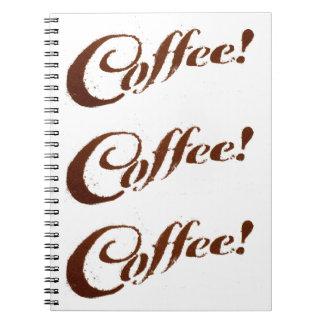 Coffee Grounds Coffee - Notebook