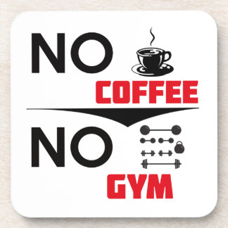 coffee gym coaster