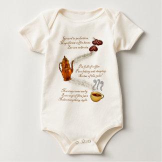Coffee Haiku Infant Shirts