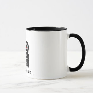Coffee h'and... mug