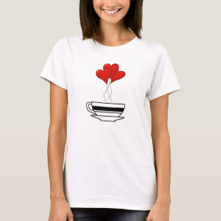 Coffee Hearts T-Shirt
