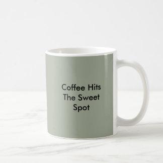Coffee Hits The Sweet Spot Coffee Mug