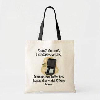Coffee Hog Husband Tote Bag