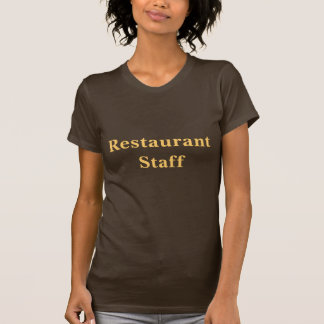 Coffee House Restaurant staff T Shirt. Tshirts
