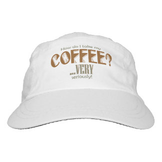 coffee - how do I take it Hat