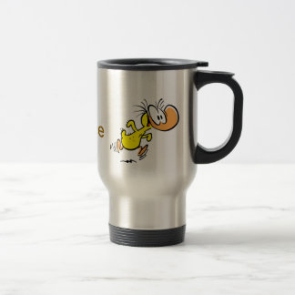 Coffee Humor Cartoon Duck Funny Travel Mug