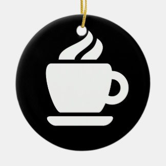 Coffee Ideology Ceramic Ornament