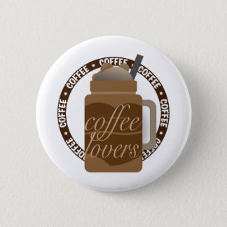 Coffee Illustration by Syahikmah 2 Inch Round Button