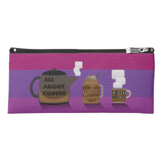 Coffee Illustration by Syahikmah Pencil Case