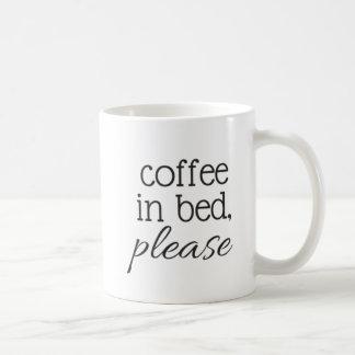 Coffee in Bed Coffee Mug