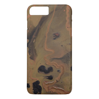 """Coffee In Copper"" Abstract Painting Phone Case"