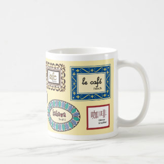 Coffee in Different Languages Coffee Mug