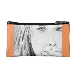 Coffee in Fall Pencil Bag Cosmetics Bags